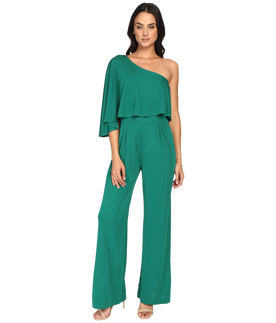 Trina Turk - Applause Jumpsuit (Emerald) Women's Jumpsuit & Rompers One Piece