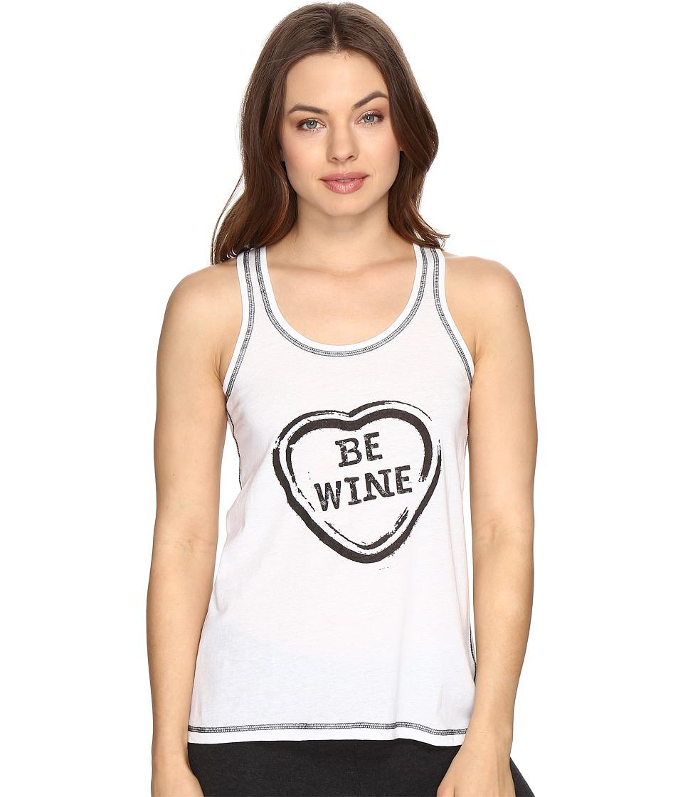 P.J. Salvage - Wine Is My Valentine Tank Top (Ivory) Women's Pajama
