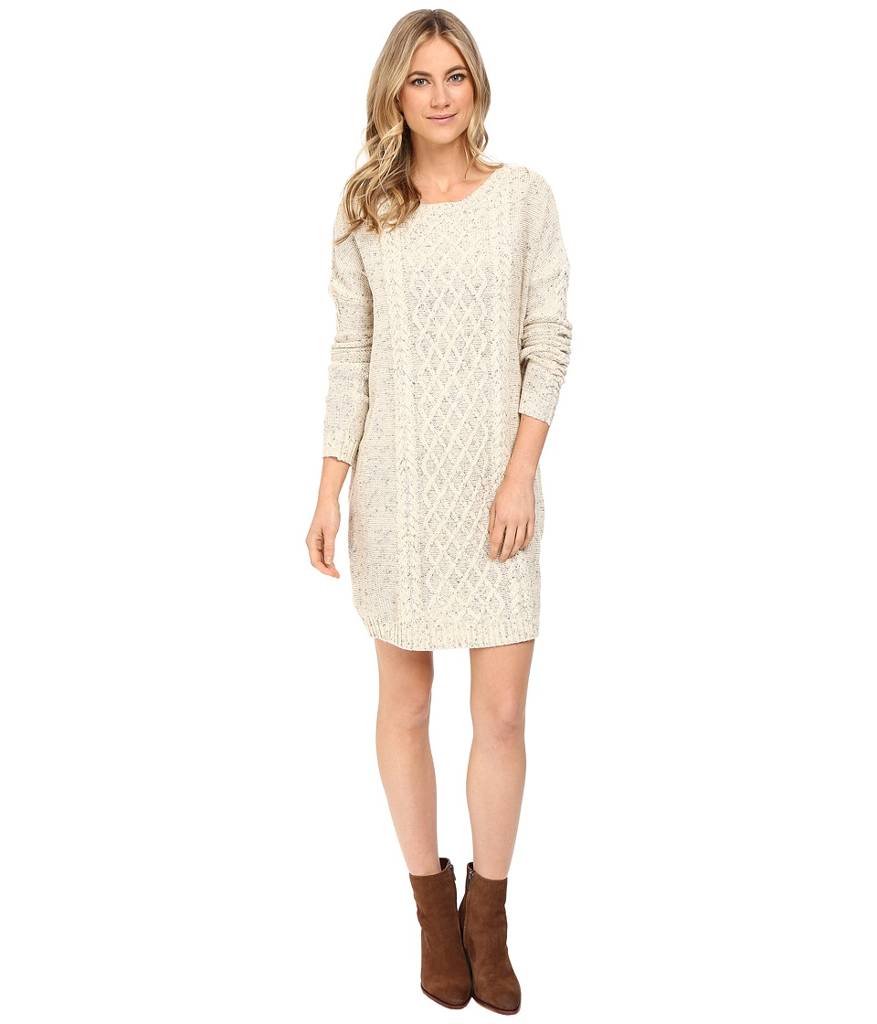 Jack by BB Dakota - Macey Cable Knit Sweater Dress (Ivory) Women's Dress