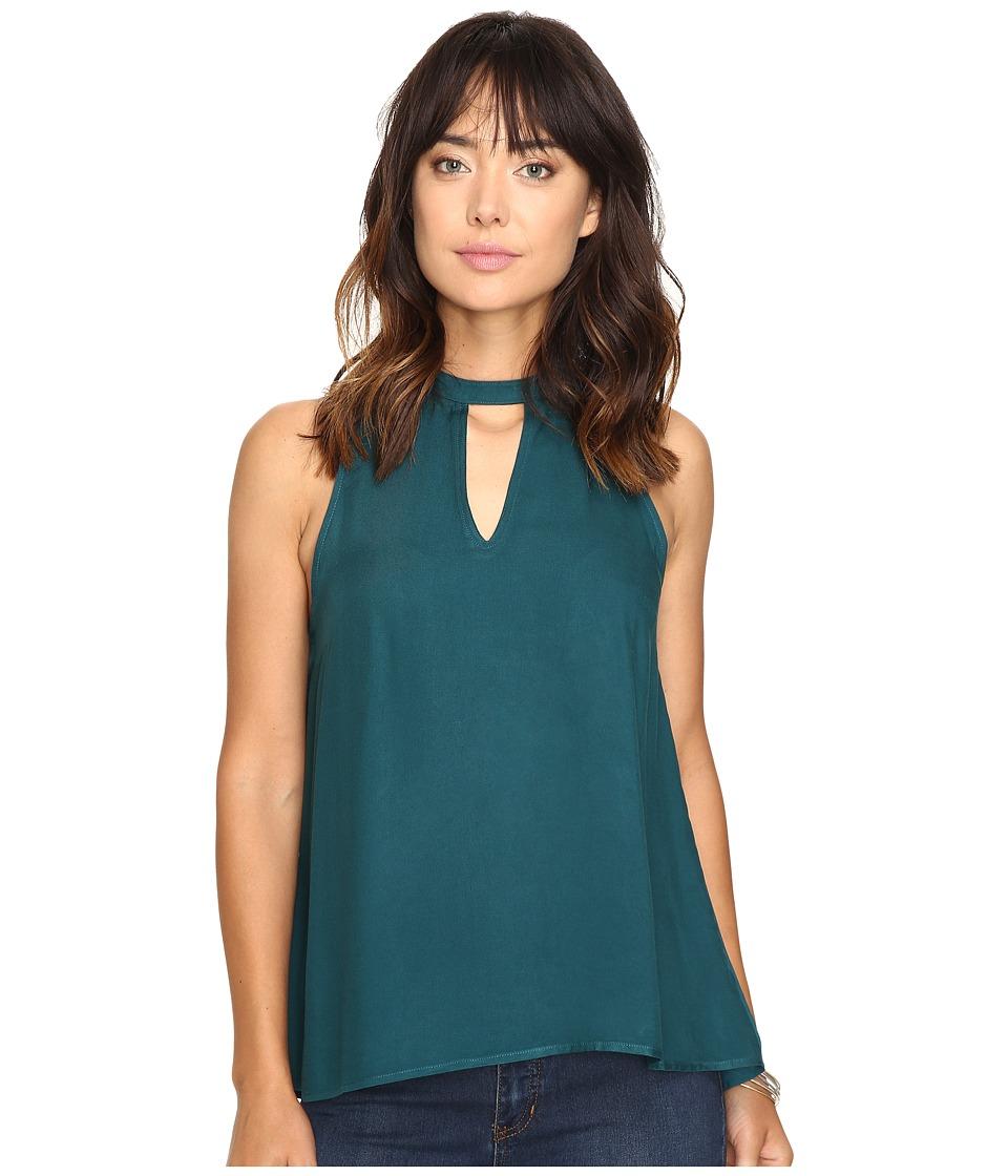 Jack by BB Dakota - Schuman Rayon Twill Top (Juniper Green) Women's Clothing