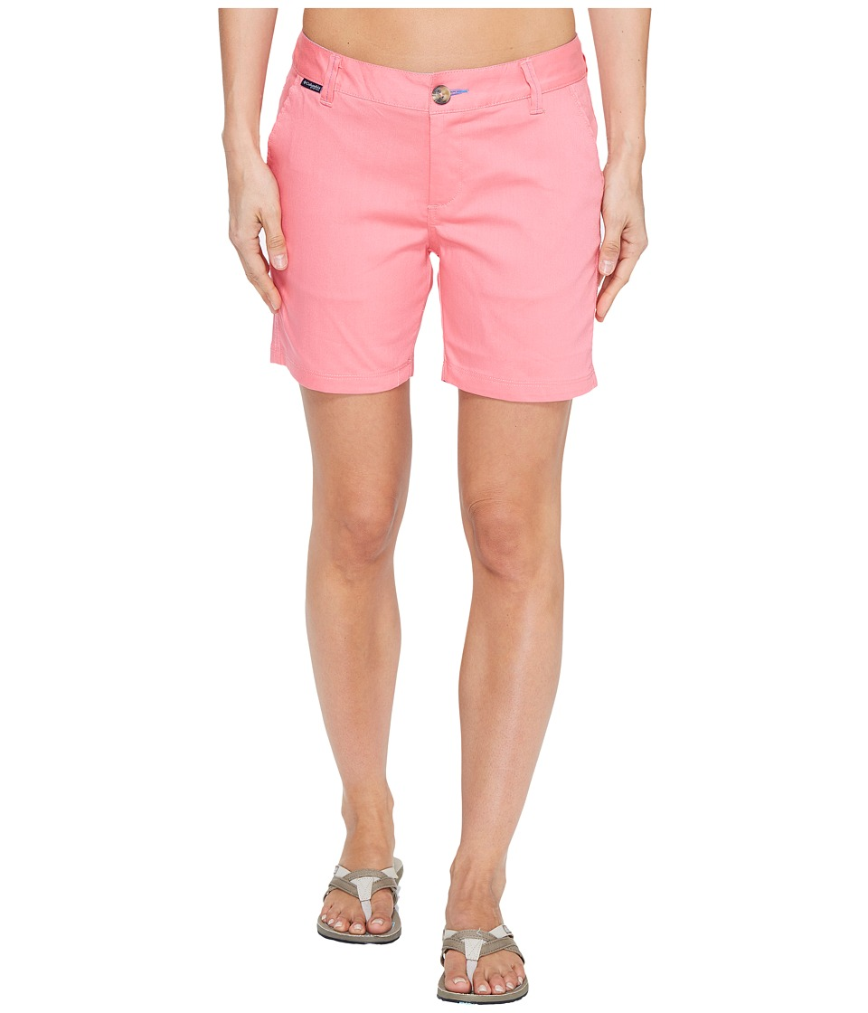 Columbia - Harborside Shorts (Lollipop/Harbor Blue) Women's Shorts