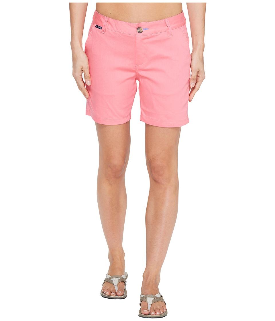 Columbia - Harborside Shorts (Lollipop/Harbor Blue) Women's Shorts