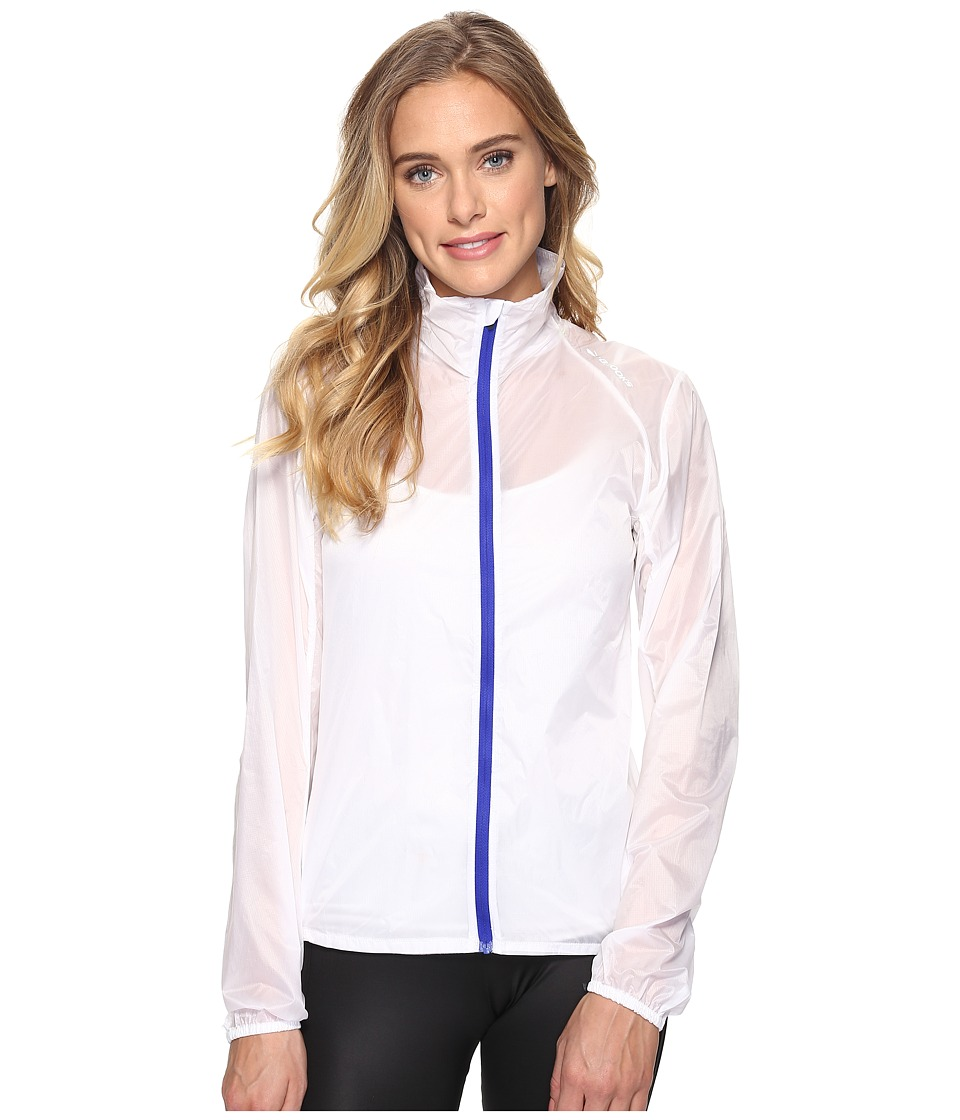 Brooks - LSD Jacket (White/Cobalt) Women's Coat