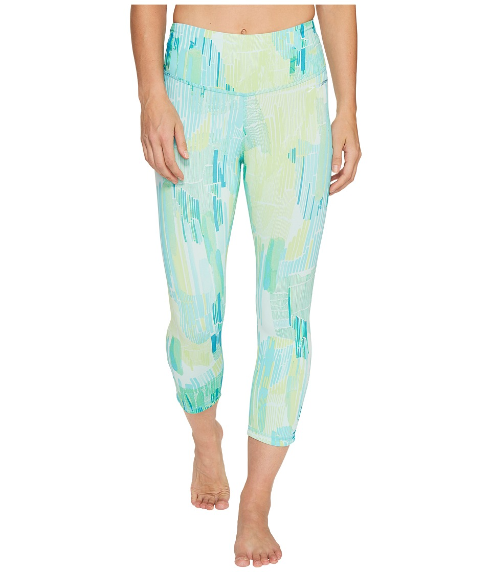 Brooks - Greenlight Capri Pants (Mirage Kasbah) Women's Capri