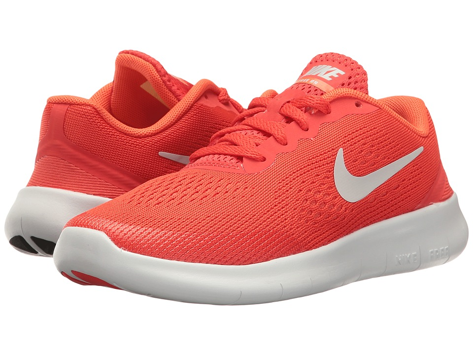 Nike Kids - Free RN (Little Kid) (Max Orange/Pure Platinum/Orchid) Boys Shoes