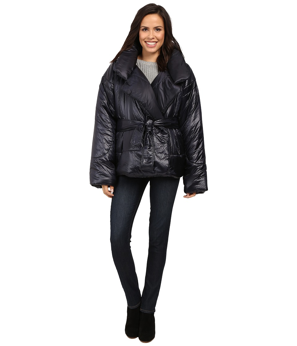 KAMALIKULTURE by Norma Kamali - Sleeping Bag Coat (Black) Women's Coat
