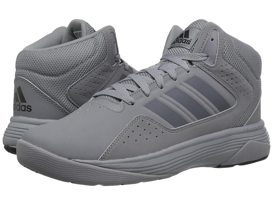 adidas - Cloudfoam Ilation Mid (Grey/Onix/Core Black) Men's Basketball Shoes