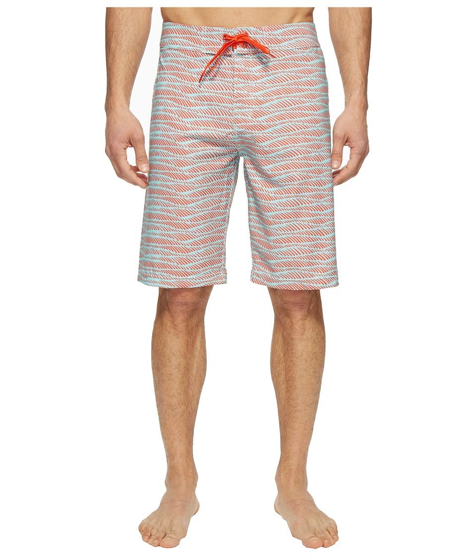 Prana - Sediment Short (Surf Blue Current) Men's Swimwear