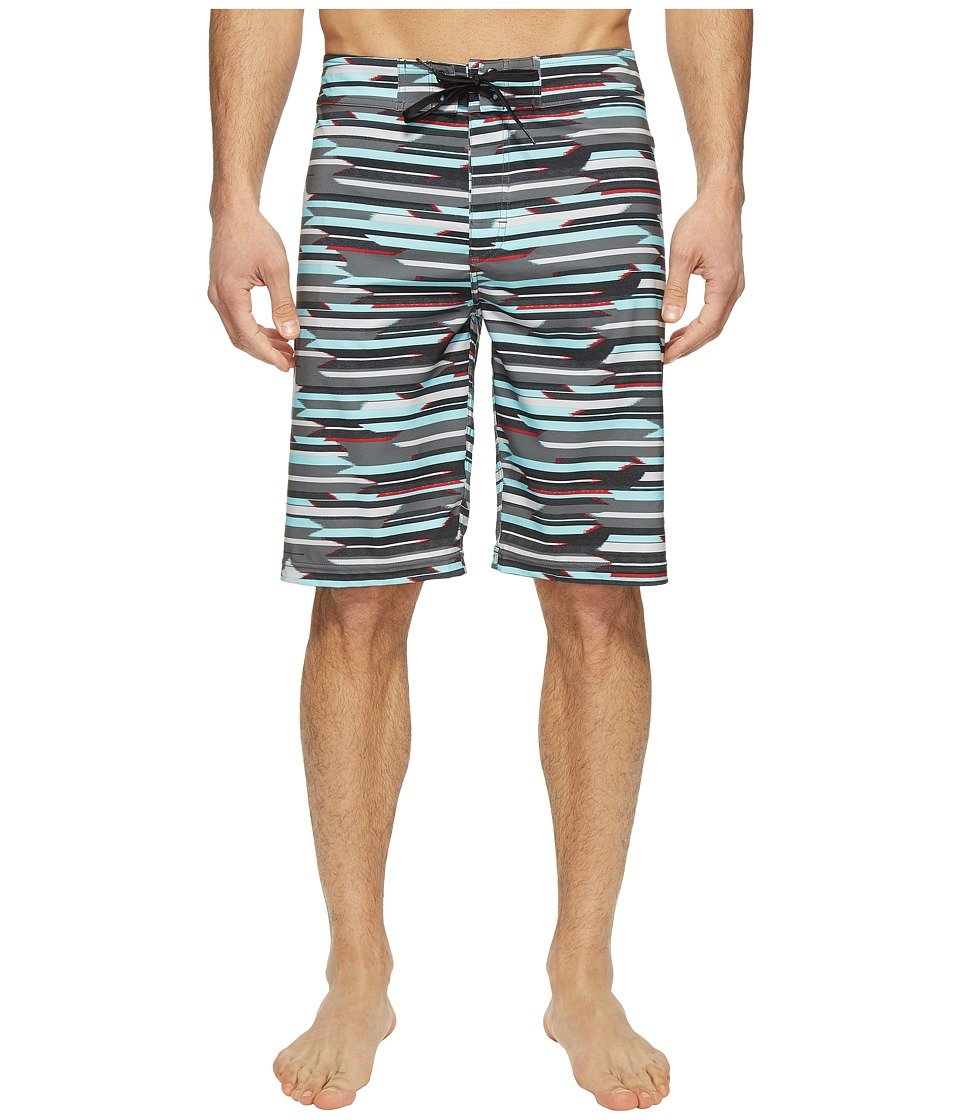 Prana - Sediment Short (Aquamarine Playa) Men's Swimwear