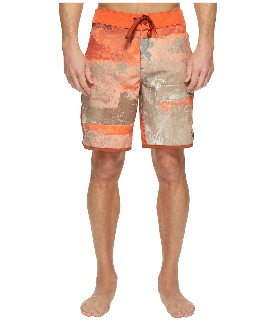 Prana High Seas Shorts (Dark Khaki Elliot) Men