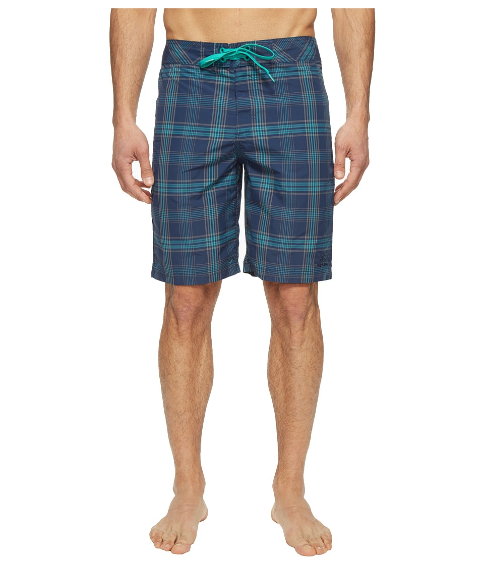 Prana - El Porto Boardshort (Blue) Men's Swimwear