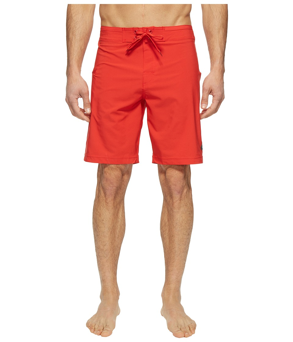 Prana - Catalyst Short (Red Ribbon) Men's Swimwear