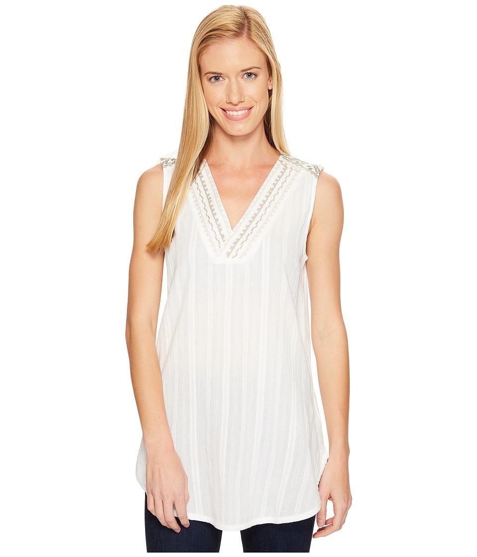 Prana - Heloise Tunic (White) Women's Sleeveless