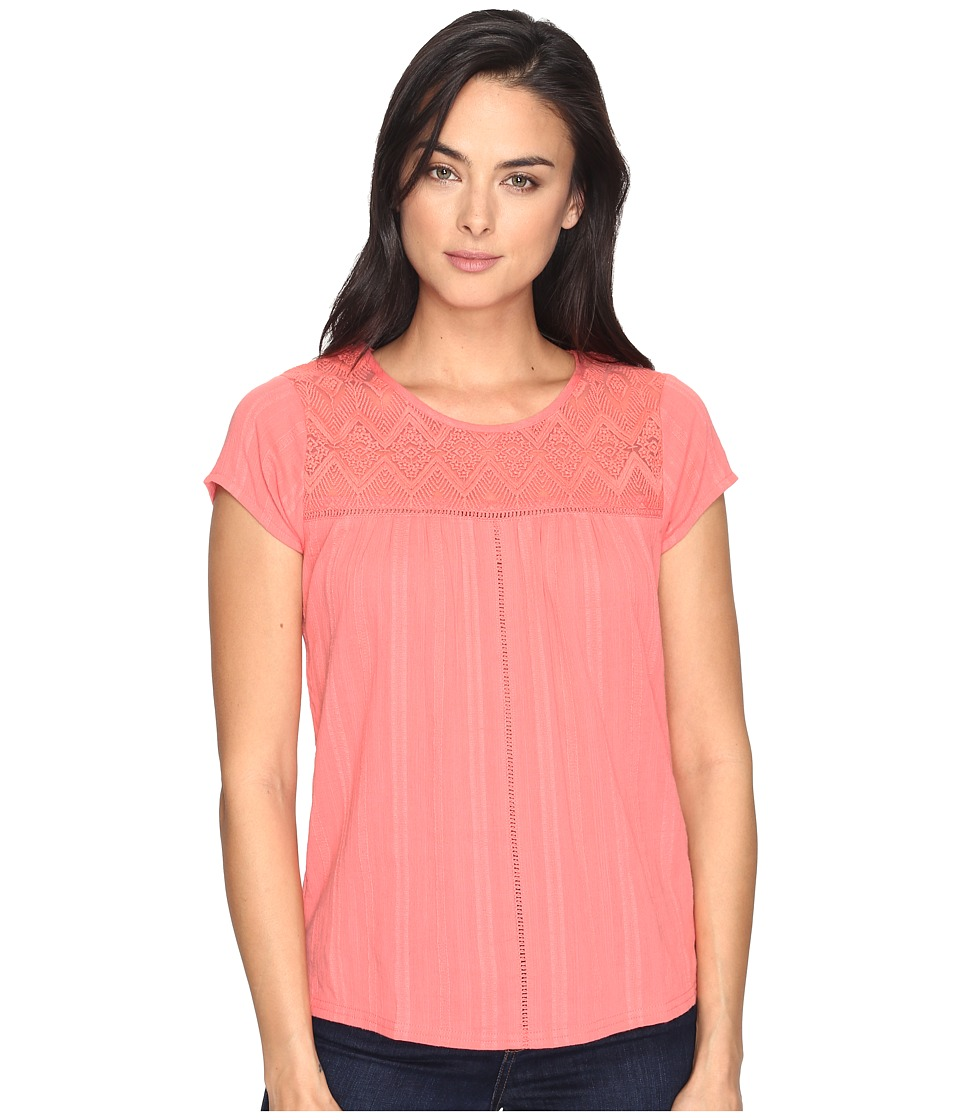 Prana - Kora Top (Summer Peach) Women's Clothing