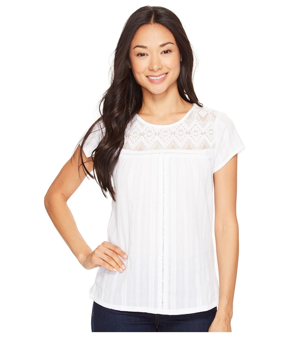 Prana - Kora Top (White) Women's Clothing