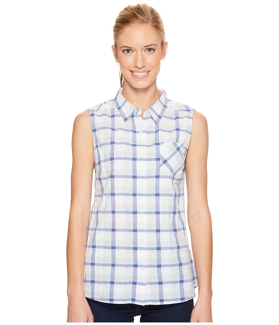 Prana - Lexi Button Down Top (Colbalt) Women's Sleeveless
