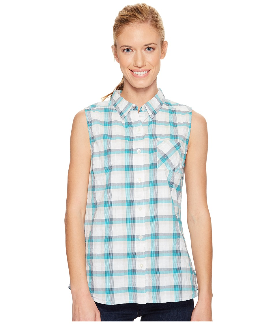 Prana - Lexi Button Down Top (Mood Indigo) Women's Sleeveless