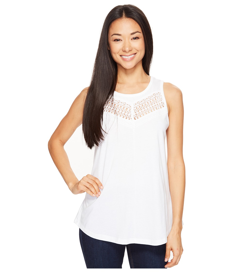 Prana - Petra Top (White) Women's Sleeveless