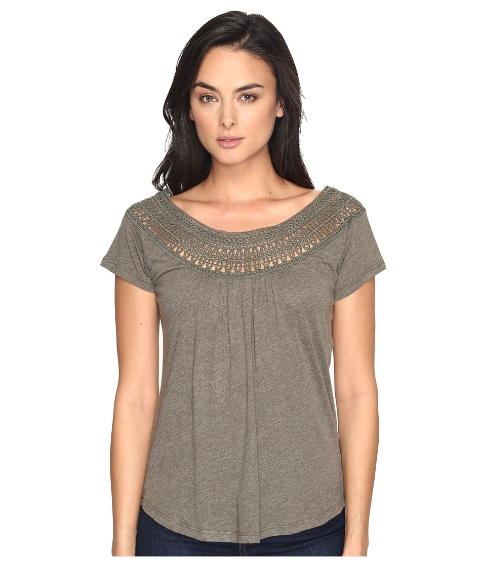 Prana - Nelly Tee (Cargo Green) Women's Clothing
