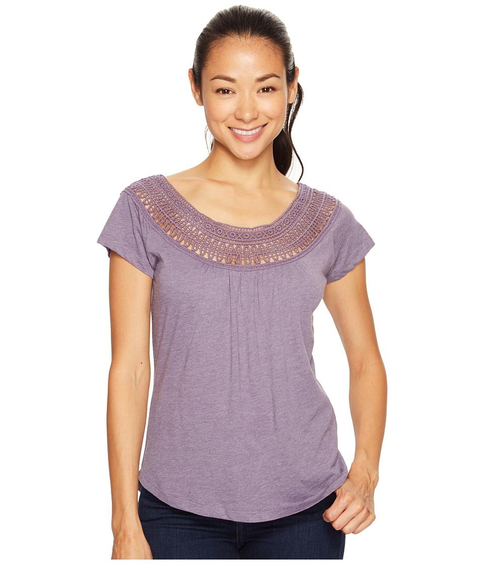 Prana - Nelly Tee (Purple Mountain) Women's Clothing