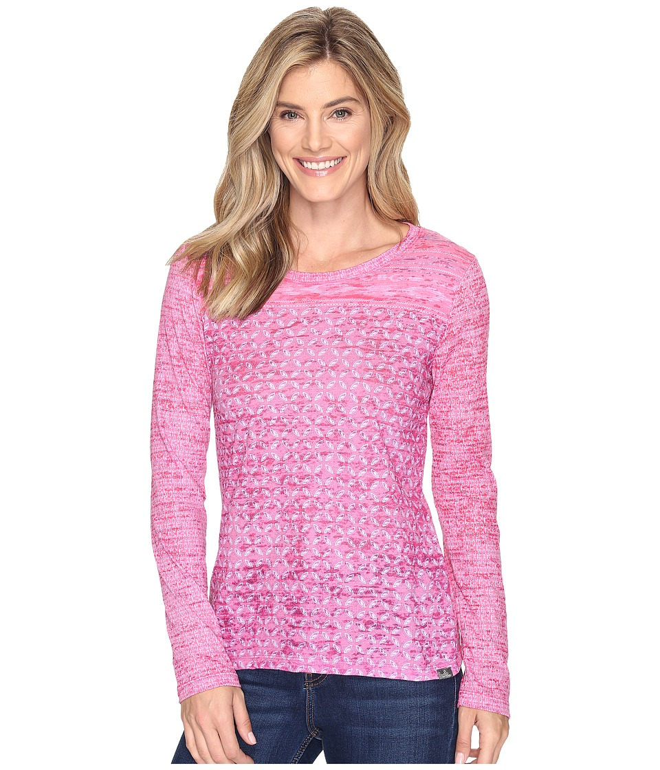 Prana - Lottie Top (Cosmo Pink Milos) Women's Long Sleeve Pullover