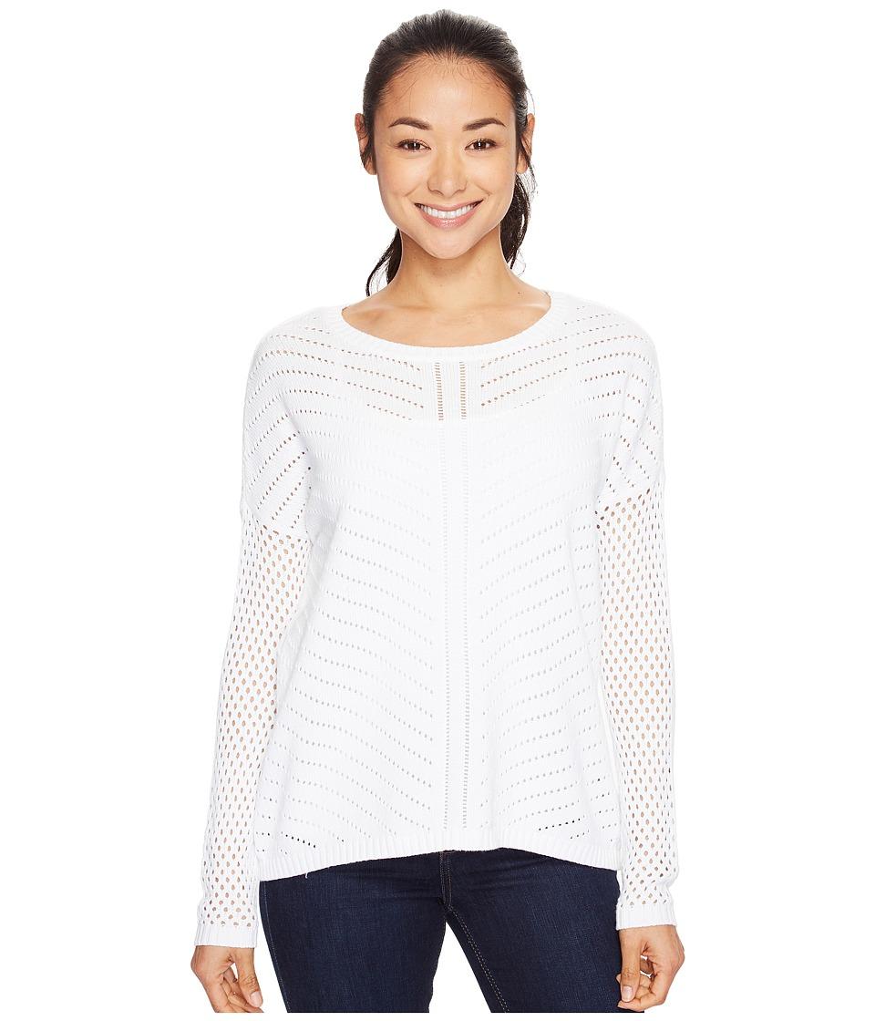 Prana - Parker Sweater (White 2) Women's Sweater