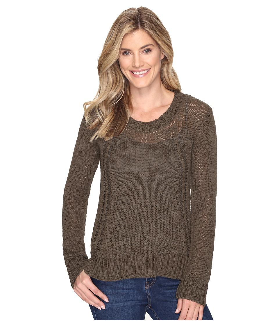 Prana - Monique Sweater (Cargo Green) Women's Sweater