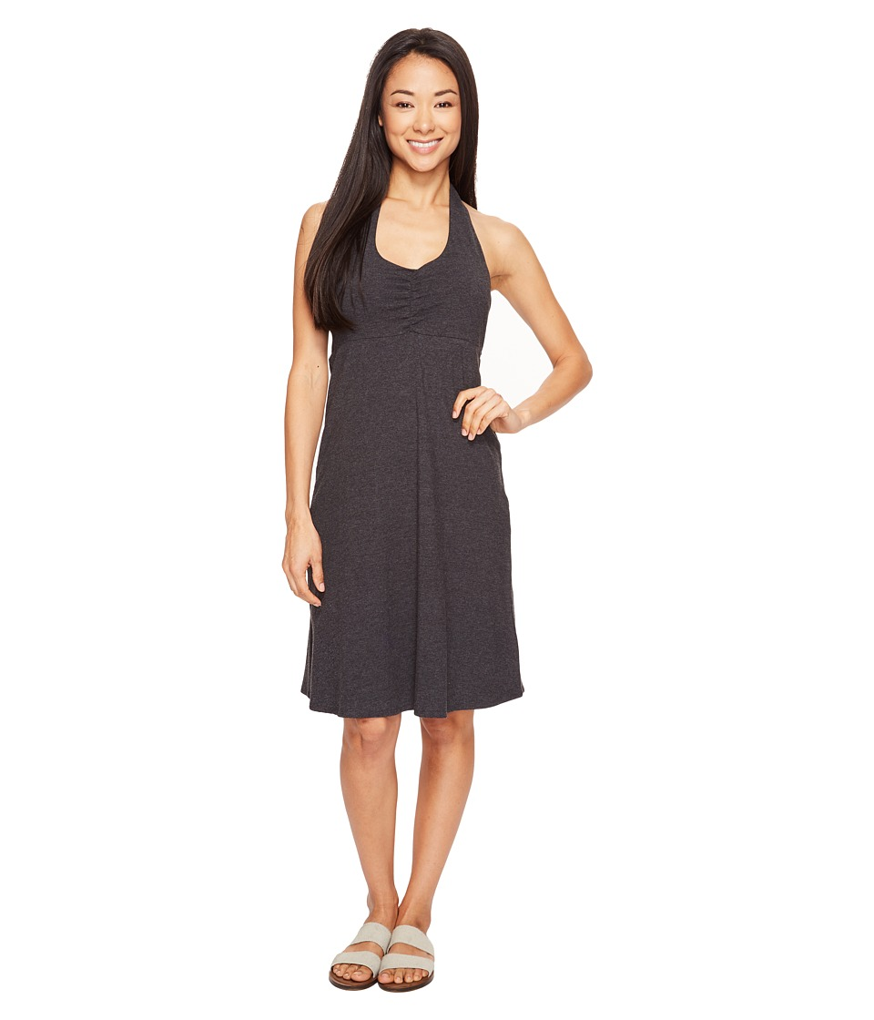 Prana Beachside Dress (Black) Women