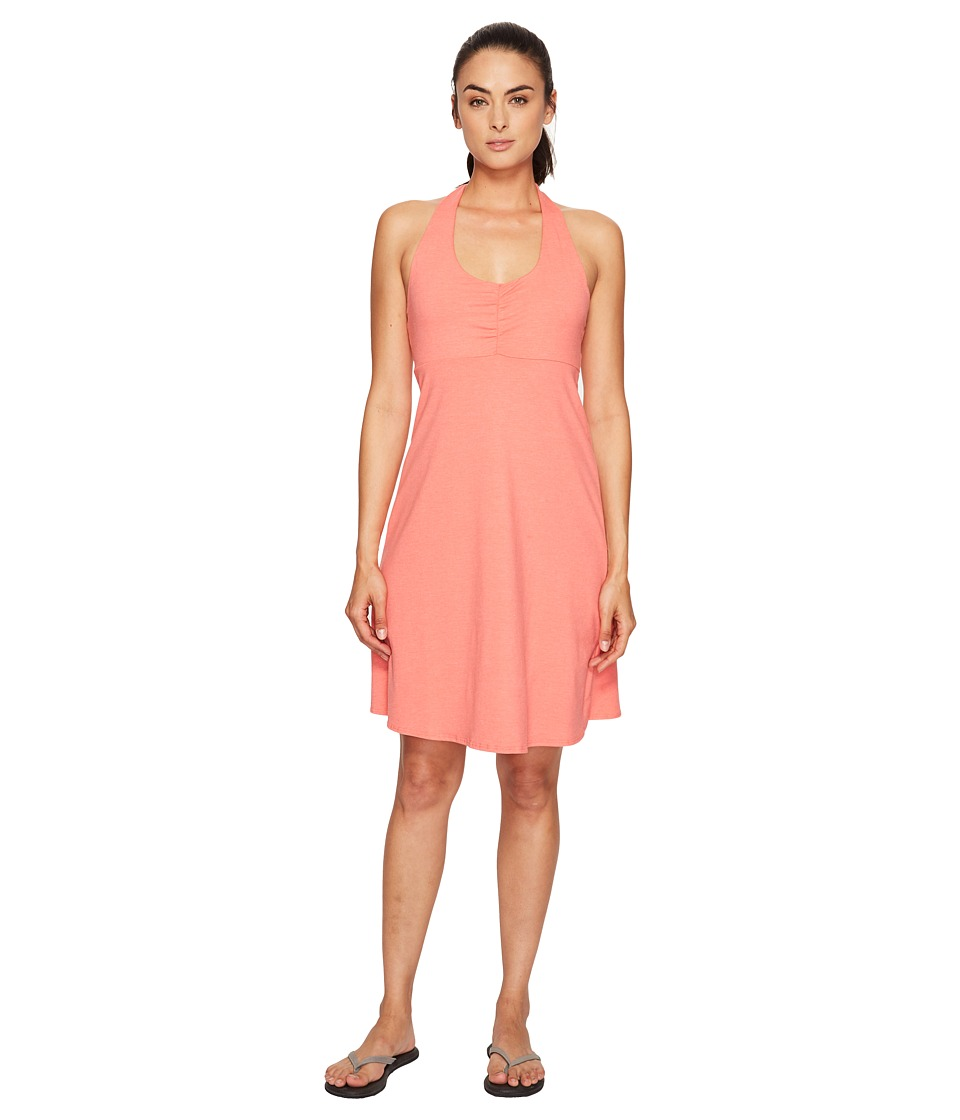Prana - Beachside Dress (Summer Peach) Women's Dress