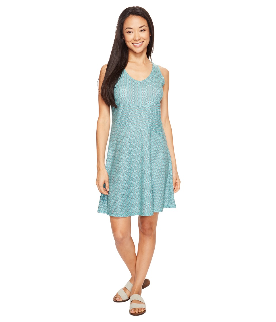 Prana - Amelie Dress (Aquamarine Parade) Women's Dress
