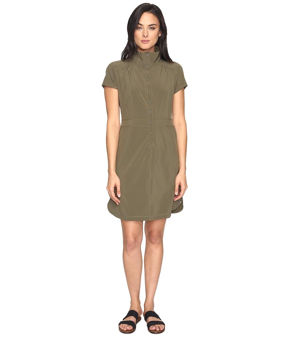 Prana - Shadyn Dress (Cargo Green) Women's Dress