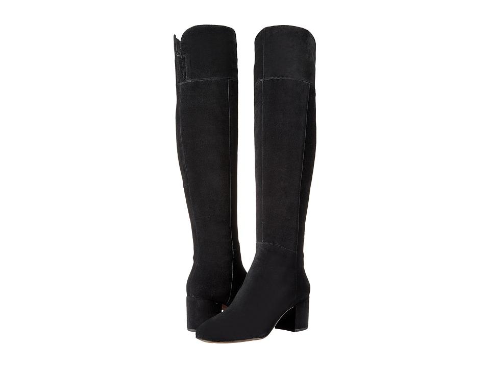 Franco Sarto - Kerri (Black Suede) Women's Boots