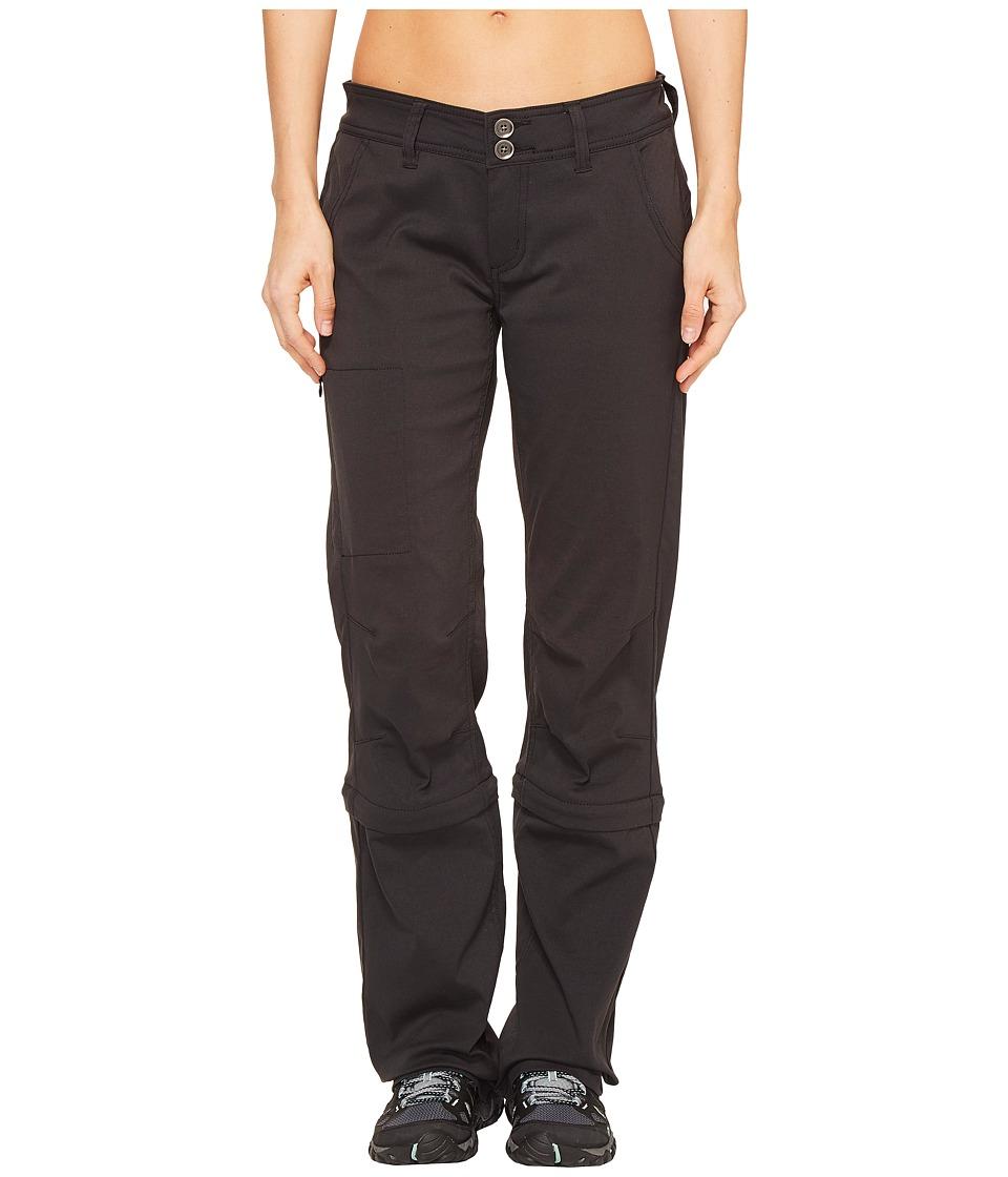 Prana - Halle Convertible Pants (Black) Women's Casual Pants
