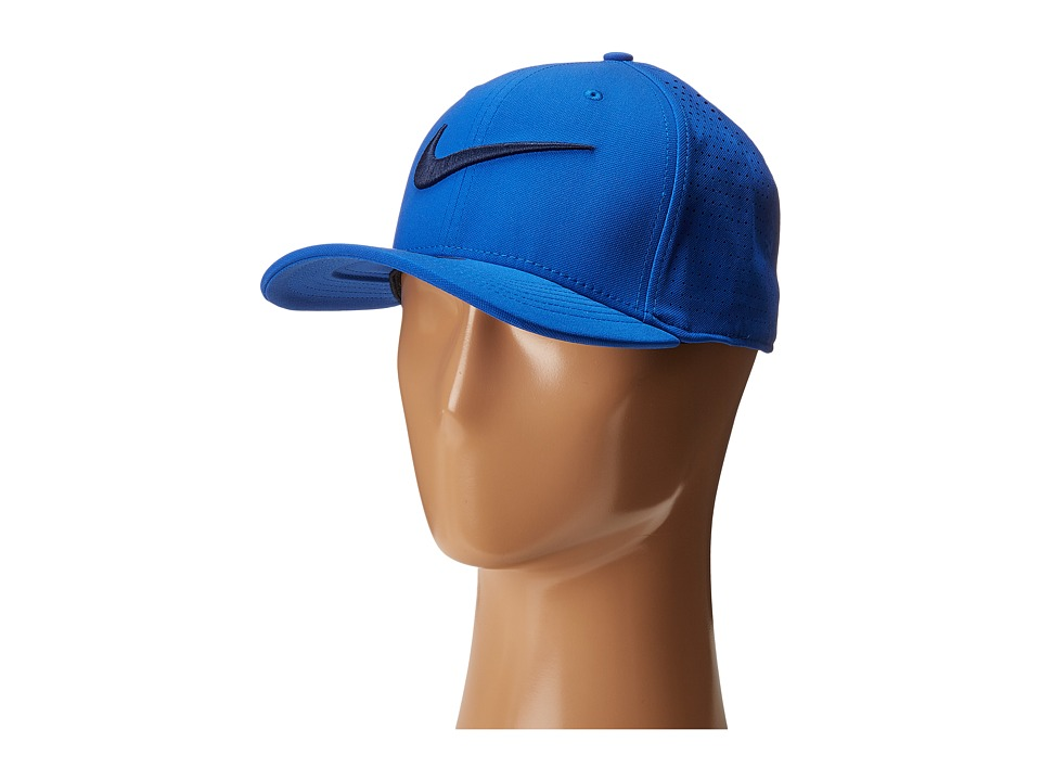 Nike - Train Vapor SwooshFlex Hat (Game Royal/Game Royal/Black/Binary Blue) Caps