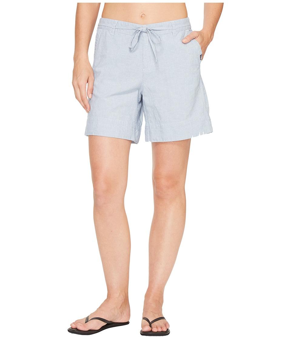 The North Face - Destination Shorts (Coastal Fjord Blue Stripe (Prior Season)) Women's Shorts