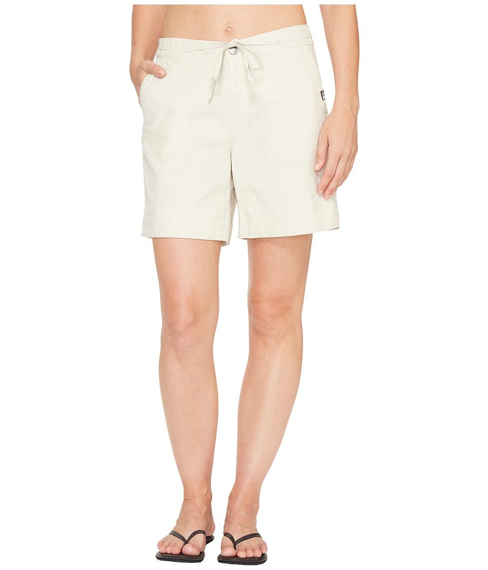 The North Face - Destination Shorts (Flax Stripe (Prior Season)) Women's Shorts