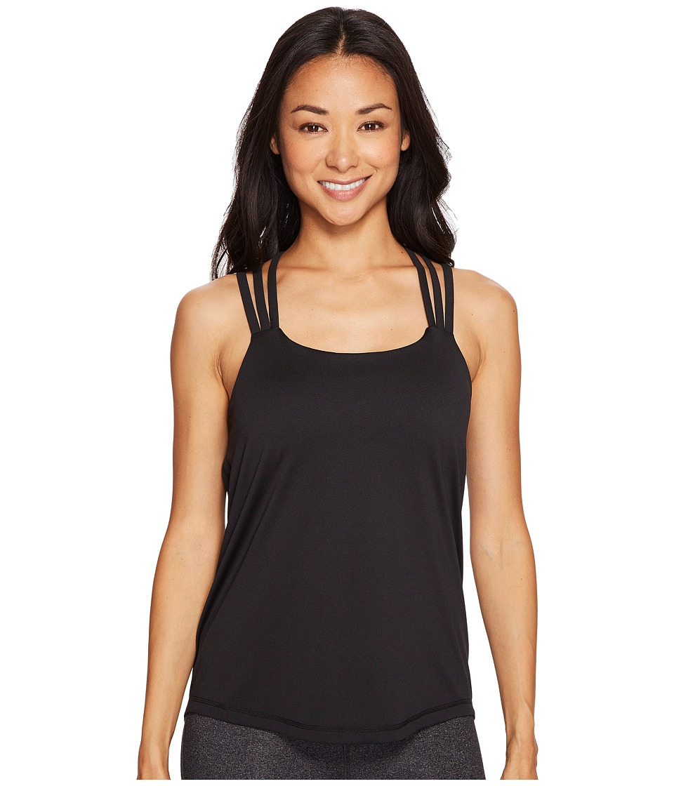 Prana - Waterfall Tank Top (Black) Women's Sleeveless