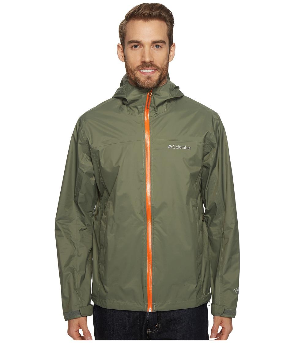 Columbia - EvaPOURationtm Jacket (Cypress/Valencia) Men's Coat