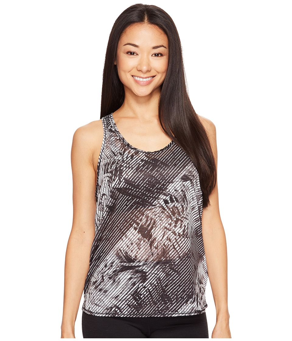 Prana - Breezie Tank Top (Black Paradise) Women's Sleeveless