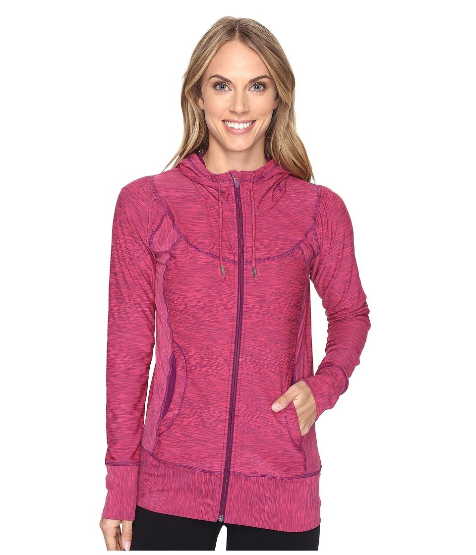 Prana - Ember Zip-Up Hoodie (Cosmo Pink) Women's Sweatshirt