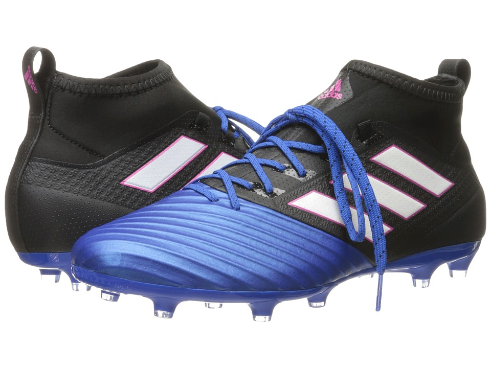 adidas - Ace 17.2 Primemesh FG (Core Black/Footwear White/Blue) Men's Soccer Shoes
