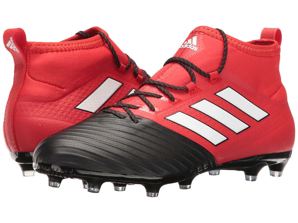 adidas - Ace 17.2 Primemesh FG (Red/Footwear White/Core Black) Men's Soccer Shoes