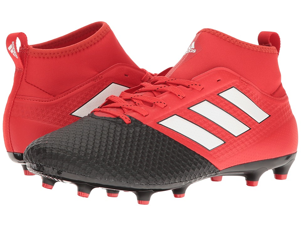 adidas - Ace 17.3 Primemesh FG (Red/Footwear White/Core Black) Men's Soccer Shoes