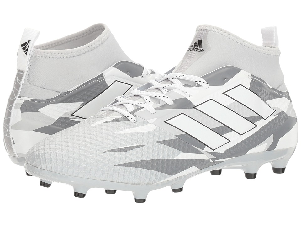 adidas - Ace 17.3 Primemesh FG (Footwear White/Core Black) Men's Soccer Shoes