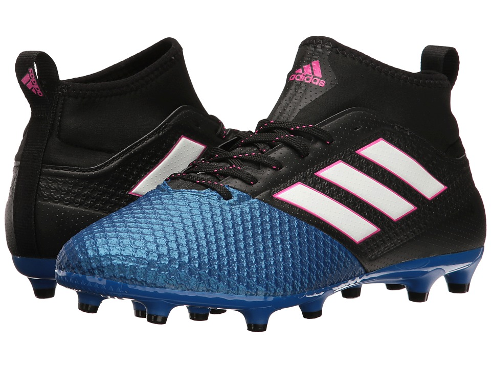 adidas - Ace 17.3 Primemesh FG (Core Black/Footwear White/Blue) Men's Soccer Shoes