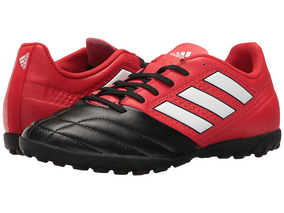 adidas - Ace 17.4 TF (Red/Footwear White/Core Black) Men's Soccer Shoes