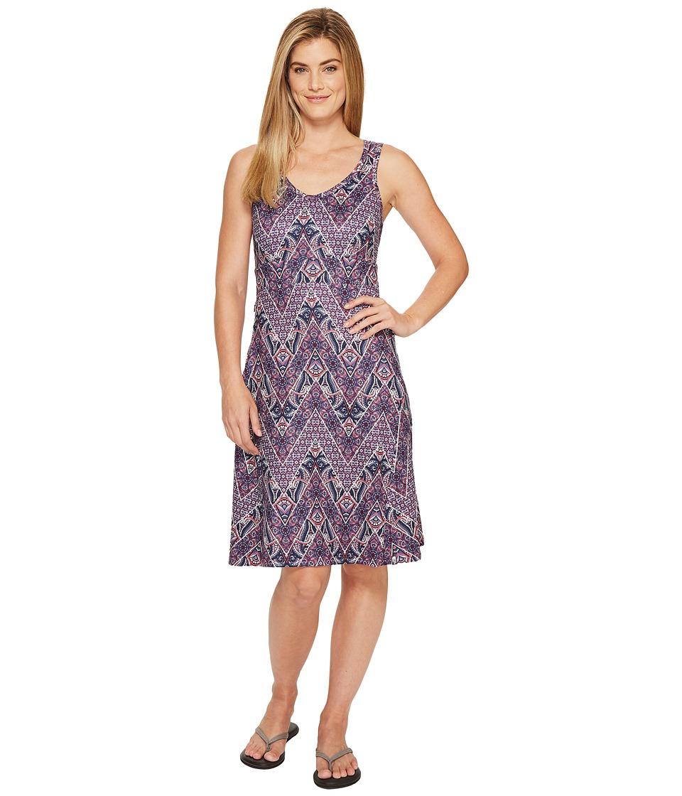 The North Face - Getaway Dress (Honeysuckle Pink Chevron Paisley Print (Prior Season)) Women's Dress