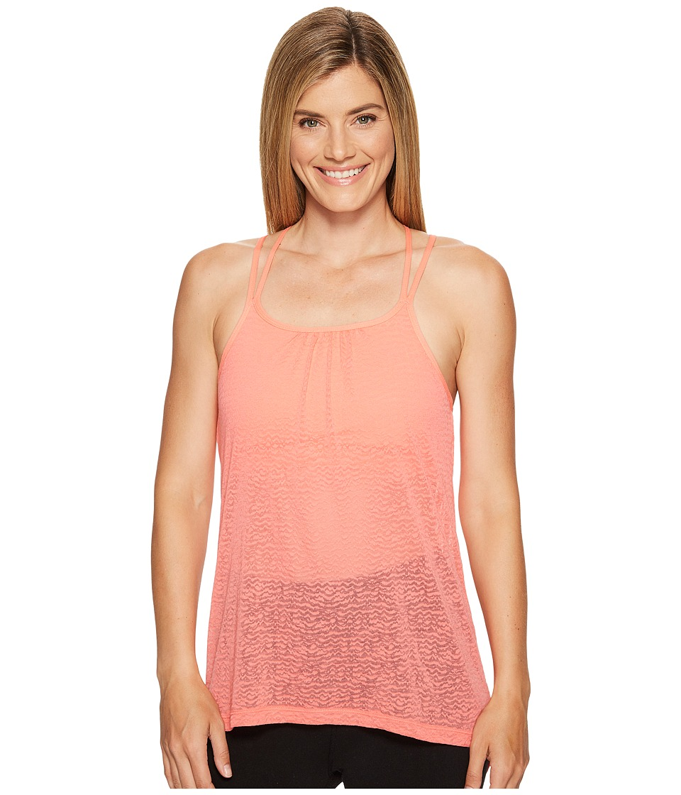 Prana - Mika Strappy Top (Summer Peach) Women's Sleeveless