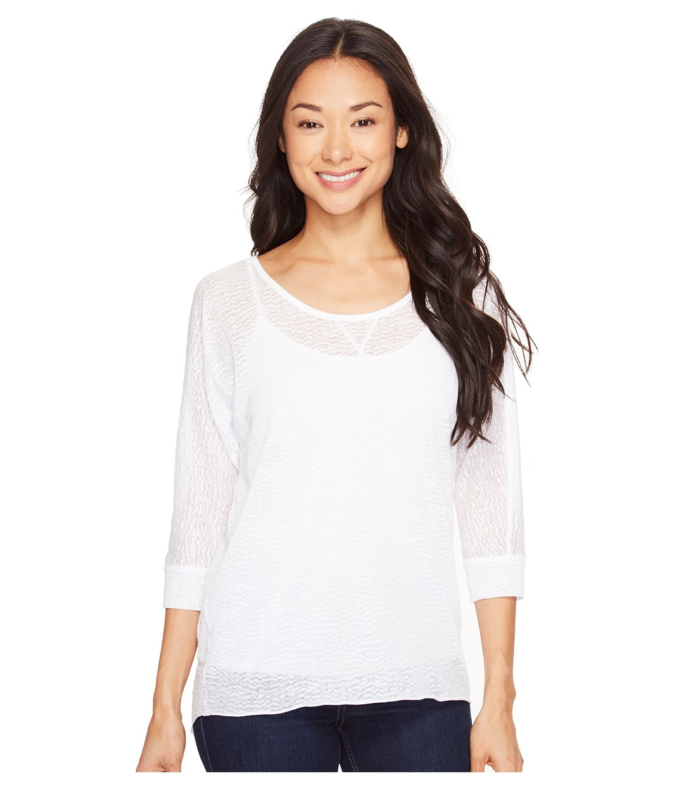 Prana - Tranquil Top (White) Women's Clothing
