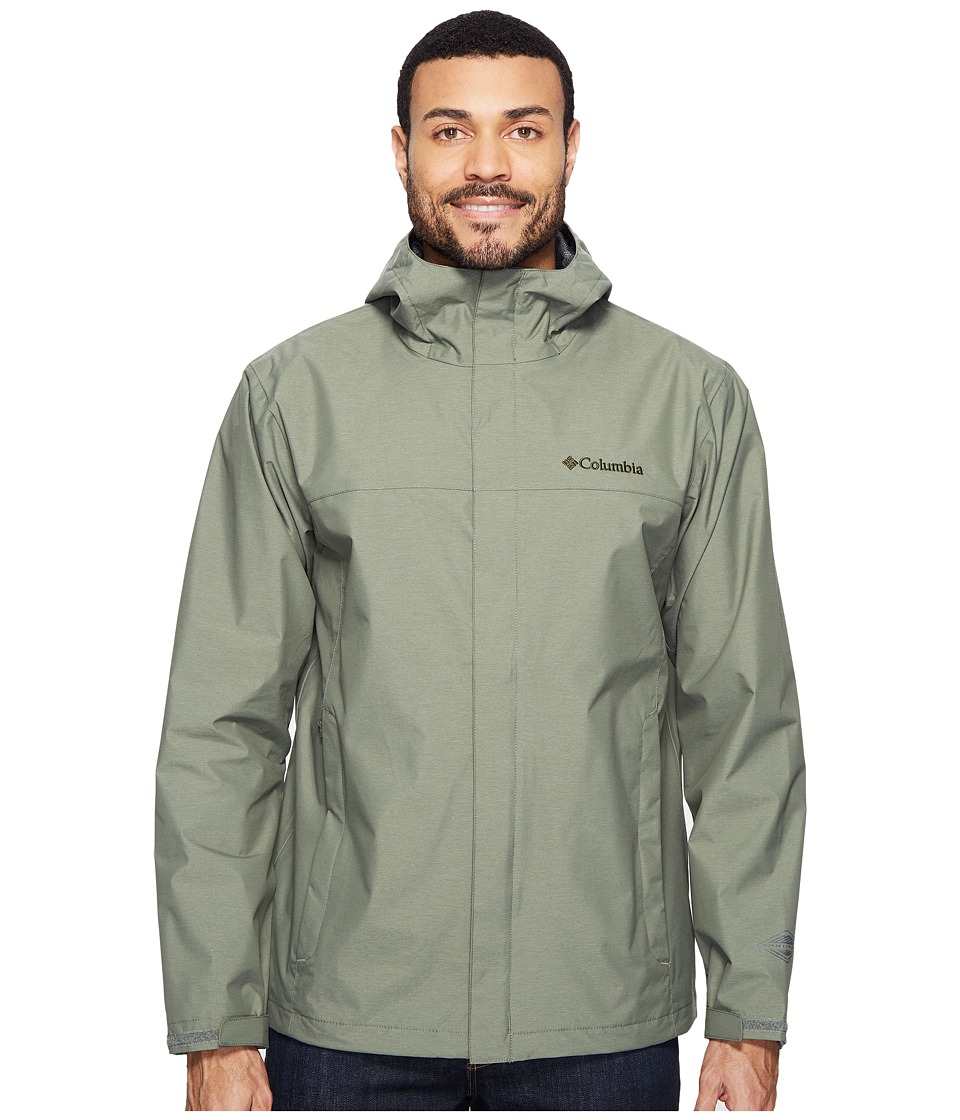 Columbia - Diablo Creek Rain Jacket (Cypress) Men's Coat